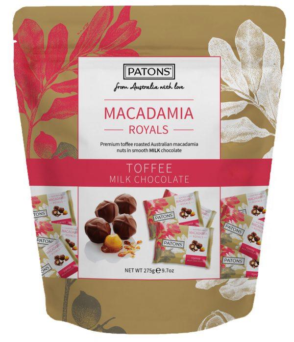Royals Bag Chocolate Macadamia Milk