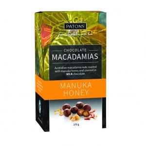 Artisan Milk Chocolate Manuka Honey Macadamias