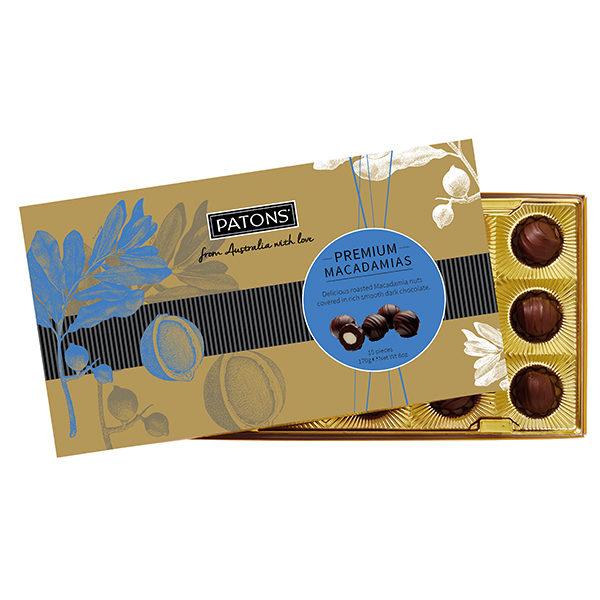 Premium Dark Chocolate Macadamias - SALE $5.21 each