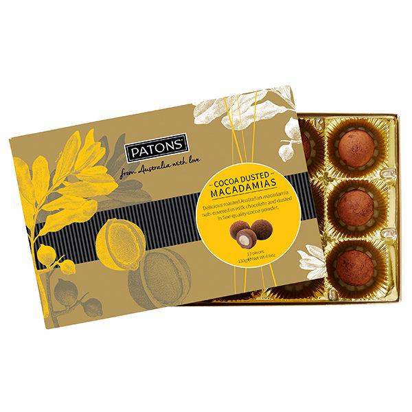Premium Cocoa Dusted Macadamias