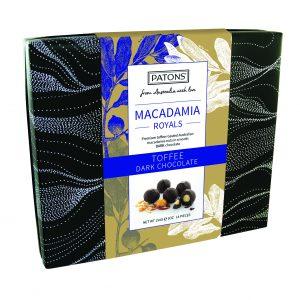 Royals Box Chocolate Macadamia Dark