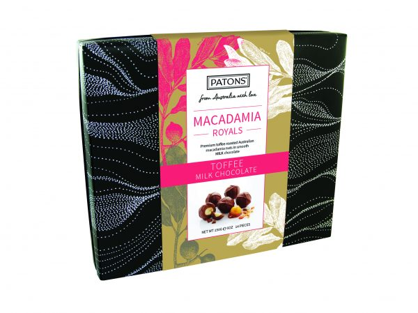 Royals Box Chocolate Macadamia Milk