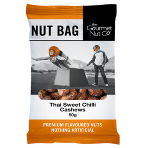 Nut Bag Thai Sweet Chilli Cashews - SALE $2.00 each