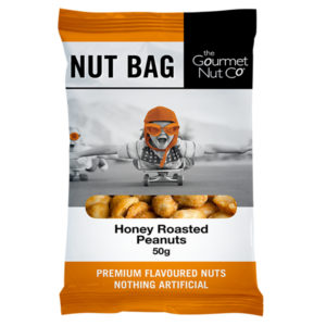 Nut Bag Honey Peanuts - SALE $1.20 each