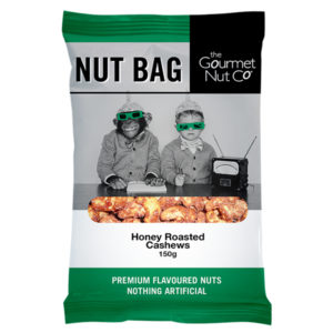 Nut Bag Honey Cashews - SALE $2.00 each