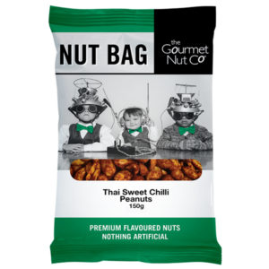 Nut Bag Thai Sweet Chilli Peanuts - SALE $1.20 each