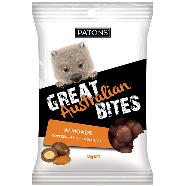 Great Australian Bites Milk Almonds - SALE $2.02 each