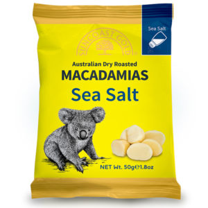 Flavoured Macadamias Sea Salt