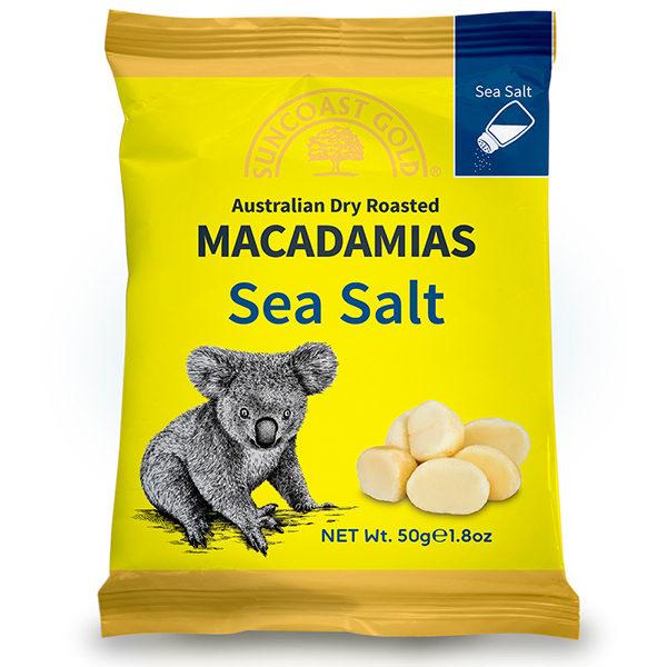 Flavoured Macadamias Sea Salt - SALE