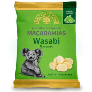 Flavoured Macadamias Wasabi - SALE
