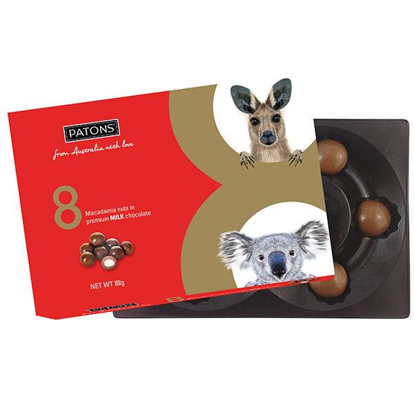 Lucky 8 Milk Chocolate Macadamia Animals  - SALE $2.20 each