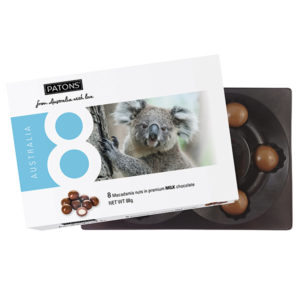 Lucky 8 Milk Chocolate Macadamia Koala - SALE $2.20 each