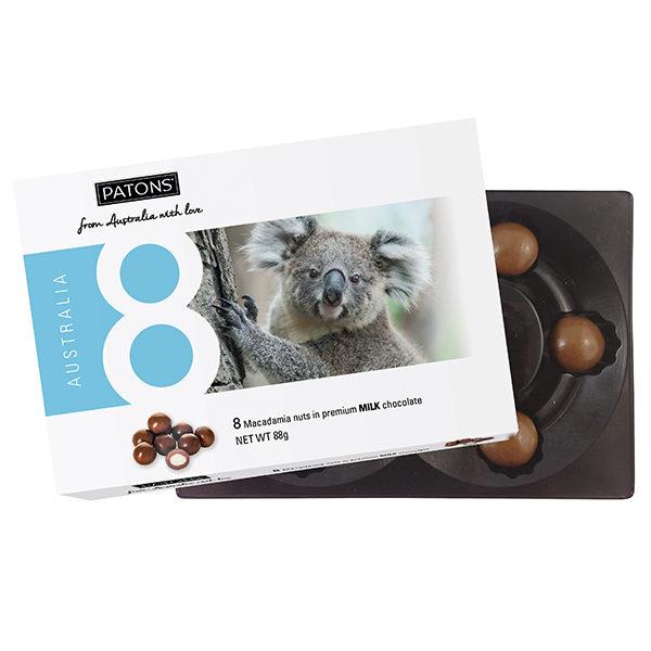 Lucky 8 Milk Chocolate Macadamia Koala - SALE $2.20 each