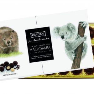 Souvenir Dark Chocolate Macadamia Australian Animals