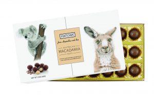 Souvenir Milk Chocolate Macadamia Australian Animals