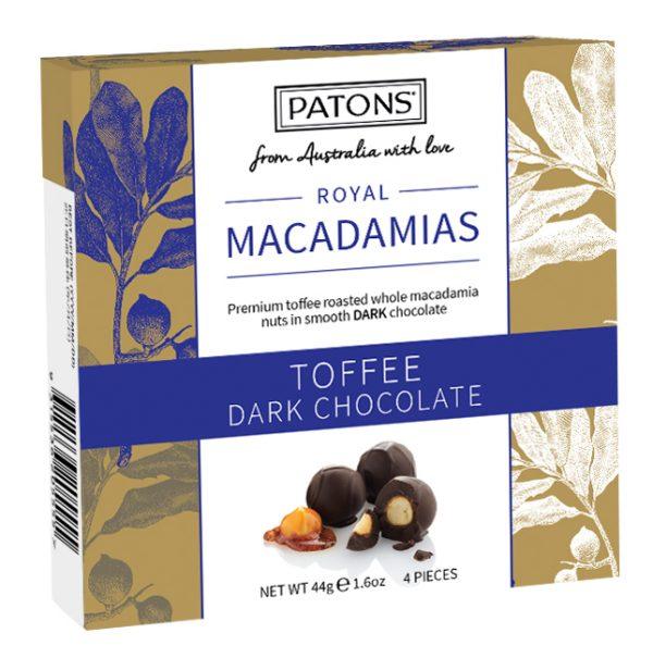 Royals Counter Box Chocolate Macadamia Dark
