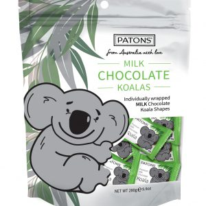 Milk Chocolate Koala Bag