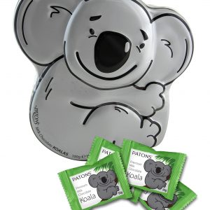Milk Chocolate Koala Tin - SALE $4.58 each