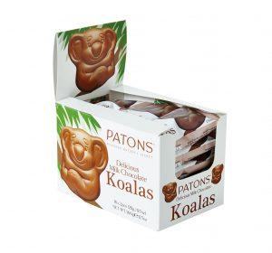 Milk Chocolate Koala Display - SALE $5.50 each
