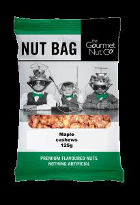 Nut Bag Maple Cashews