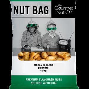 Nut Bag Honey Peanuts