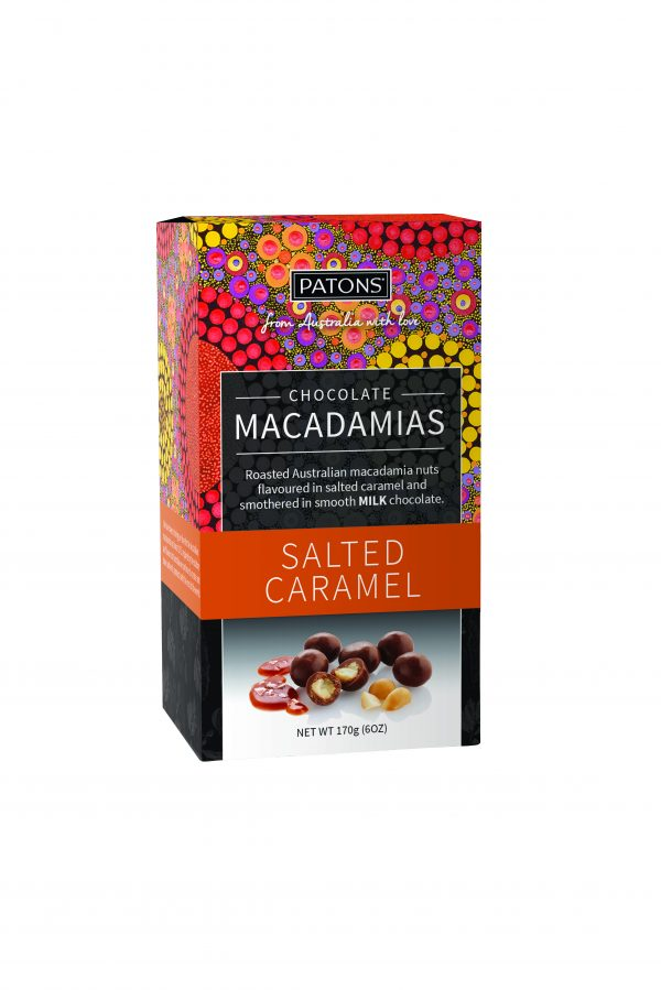Artisan Milk Chocolate Salted Caramel Macadamias